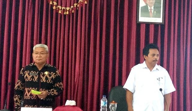 Ketua PMI Kota Kupang, Herman Man : 'Bulan Dana PMI Bukan Pungutan Liar'