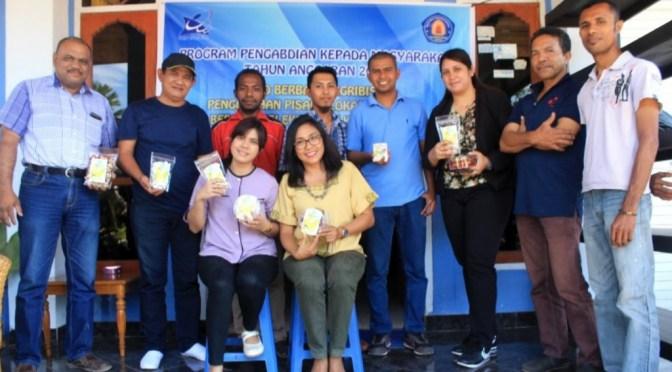 Politeknik Negeri Kupang Dukung Usaha Dodol Pisang Legit Sari via Program PPUD
