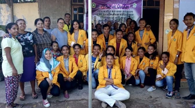 Teknik Ecobrik, Solusi Mahasiswa FKM Undana Olah Sampah Non Organik