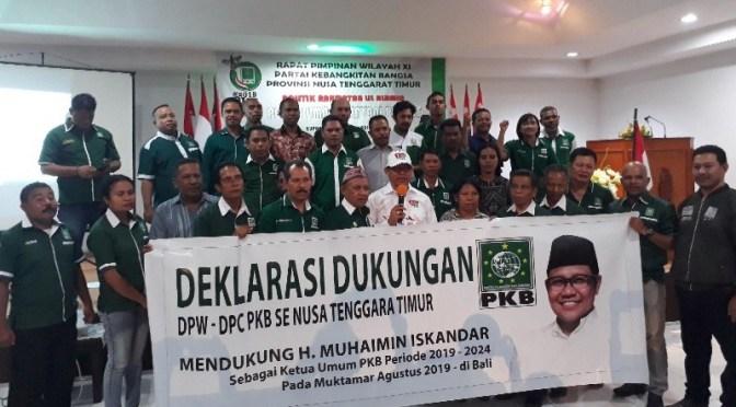 DPW PKB NTT Satukan Tekad Dukung Muhaimin Iskandar Jadi Ketum DPP PKB & Ketua MPR RI