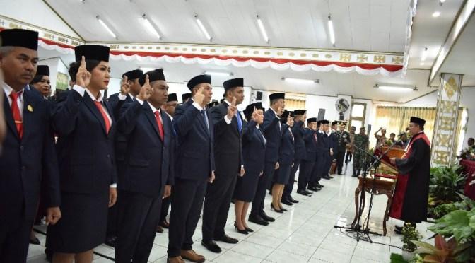 Wali Kota Jefri Pinta 40 DPRD Periode 2019—2024 Bersama Bangun Kota Kupang