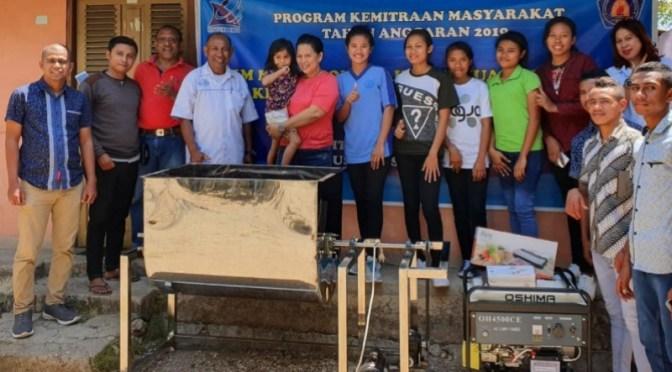 Program Kemitraan Masyarakat Politeknik Negeri Kupang Bantu Usaha Abon Ikan