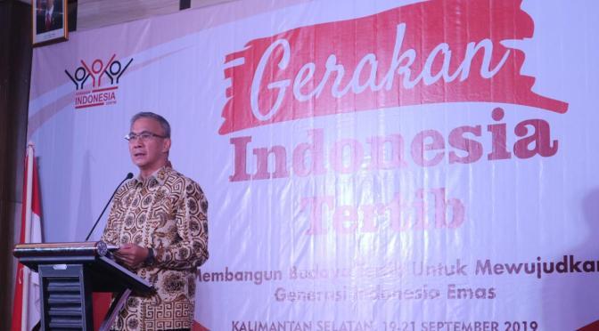 Gerakan Indonesia Tertib, Instruksi  Kemenkopolhukam bagi K/L & Pemda