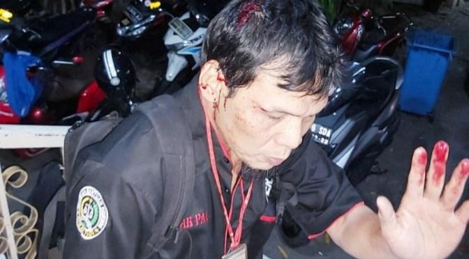 Wartawan Sinar Pagi Dianiaya Aparat, STOP Tindak Kekerasan!