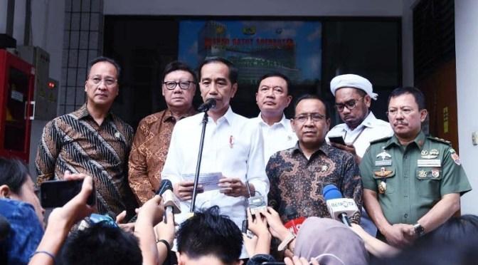 Presiden Jokowi Instruksikan Usut Tuntas Pelaku Penusukan Terhadap Wiranto