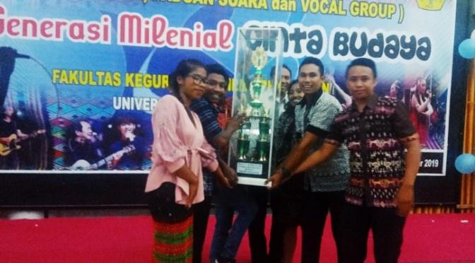 Prodi Pendidikan Matematika Raih 6 Gelar Juara di Pentas Seni & Budaya FKIP Undana
