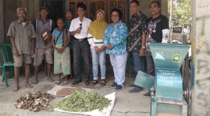 Tim Dosen Fapet Undana Beri Diseminasi Teknologi Peternakan bagi Warga Noeltoko