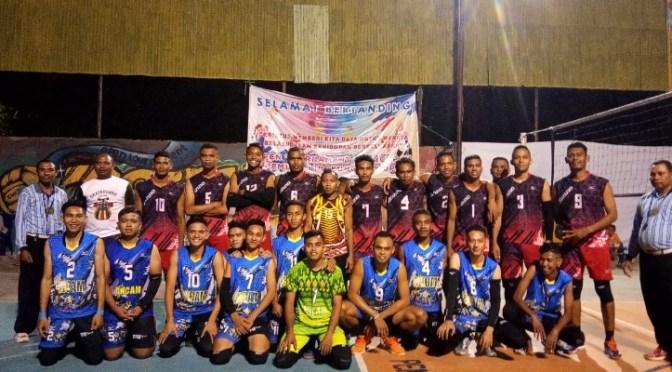 Tim Bank NTT vs Rivi Sport Bakal Berduel di Final 'Open Tournament Volly JPO'