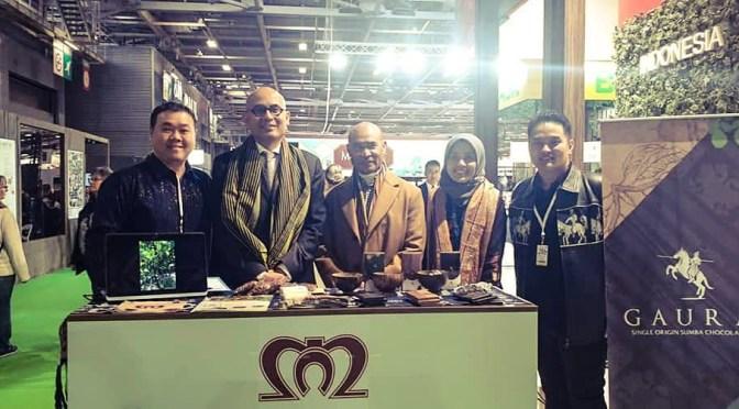 Coklat Gaura asal NTT Diluncurkan di Pameran Salon du Chocolat Paris