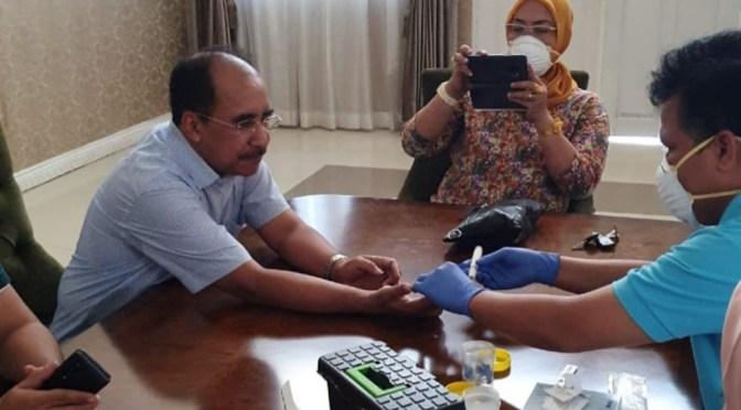 'Usai Rapid Test', Wali Kota Kupang Dinyatakan Negatif Corona