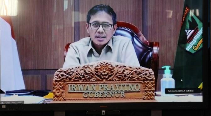 PSBB di Sumbar, Gubernur Irwan Prayitno : Sudah Masuk, Tidak Boleh Keluar