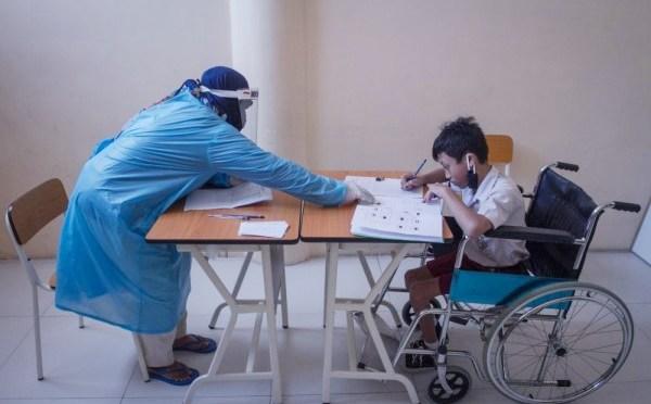 Kemen PPPA: Pendamping Anak Disabilitas Harus Terapkan Protokol Kesehatan