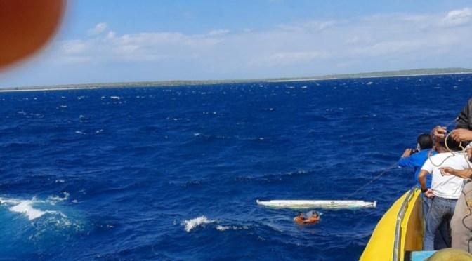 Kapal Tenggelam di Selat Pukuafu, 2 Anak Tewas & 8 Orang Belum Ditemukan