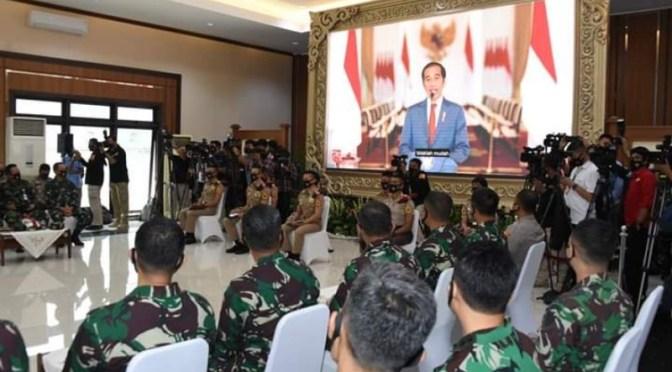 Presiden Joko Widodo : Capaja TNI-Polri Calon Pemimpin Masa Depan