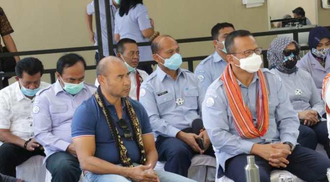 Kunjungan di Kupang, Menteri Edhy Imbau Masyarakat Cerdas Kelola Perikanan