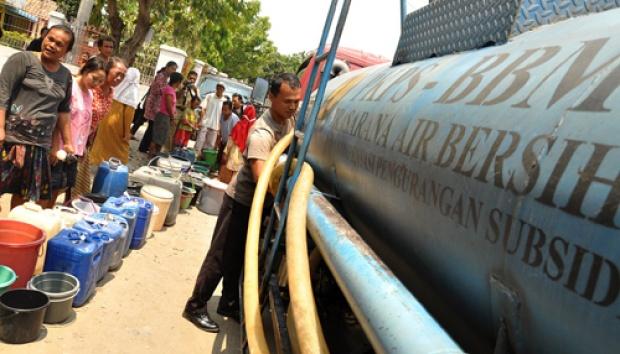 Pemkot-DPRD Kota Kupang Siap 500 Tangki Air Bersih bagi Masyarakat Marginal