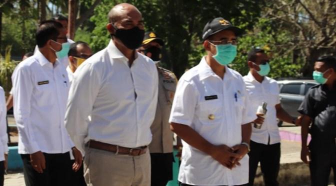 Kunker di Kota Kupang, VBL Sorot Air Bersih, Parkir & Pedagang Kaki Lima