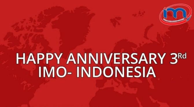 Pandemi, 'Omnibus Law' & Pilkada, Mewarnai 3 Tahun IMO-Indonesia
