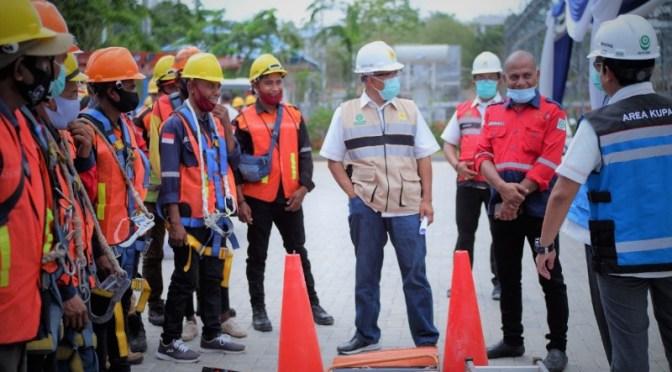 Tingkatkan Budaya K3L, PLN Helat 'Safety Talk' di UP3 Kupang