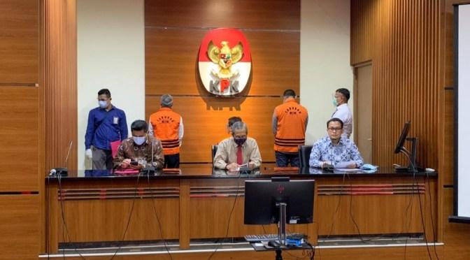 KPK Tetapkan dan Tahan Tiga Tersangka  PT. DI, Kerugian Negara 315 Miliar
