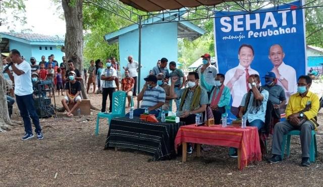 Anggota DPRD Belu Sebut Calon Petahana Rampas Ekskavator Umat Paroki Atapupu