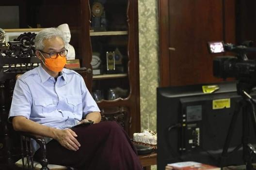 Izin BPOM Keluar, Gubernur Jateng Ganjar Pranowo Siap Vaksinasi 14 Januari