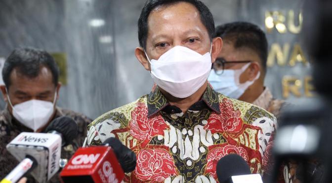 Tito Karnavian : Listyo Sigit Prabowo Sangat Siap Emban Amanah Kapolri
