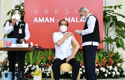 Kesan Presiden Jokowi Usai Vaksinasi Covid-19 dari Prof dr Abdul Muthalib
