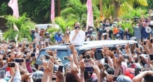 Polri : Kerumunan Jokowi di NTT Tak Masuk Pelanggaran Hukum