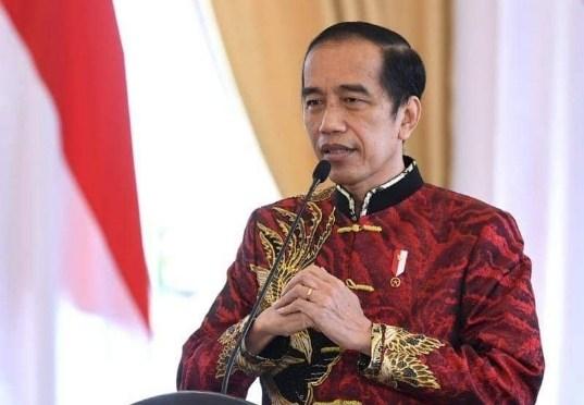Imlek Nasional 2021, Presiden Jokowi Urai Kebijakan Vaksinasi Gratis Covid