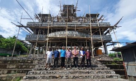 Manfaatkan Limbah Batu Bara Jadi Batako, PLN NTT Bantu Masyarakat Flores