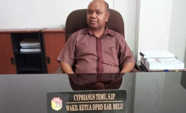 Wakil Ketua II DPRD Belu: Pengobatan Gratis Mulai Berlaku Tahun Pertama