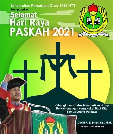 Selamat Paskah 2021 -- UPG 1945 NTT