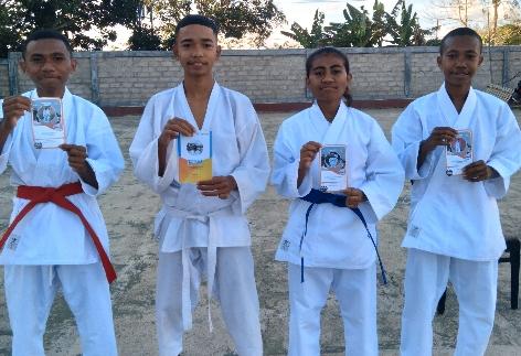Karateka KKI Ranting Rumah Jabatan Bupati TTS Raih Juara I Tingkat Provinsi NTT