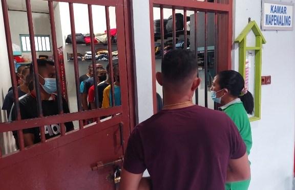 Sidak Hari Minggu di Rutan Kupang, Merci Jone: Jaga Instansi Kemenkumham