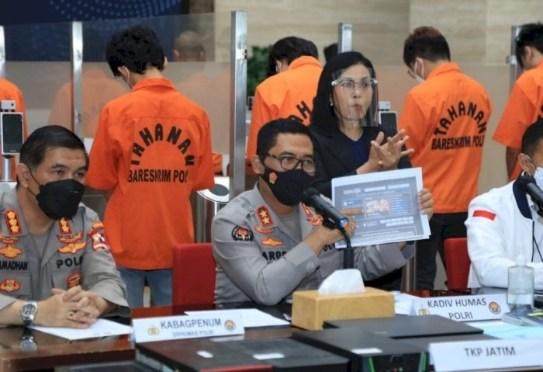 Polri Tangkap 19 Remaja Penyusup Iklan Judi Online di Situs Pemerintah