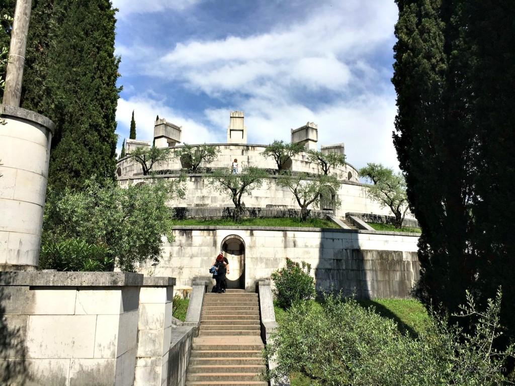 Il Vittoriale degli Italiani la casa di DAnnunzio  Gardamio