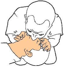 réanimation de l'enfant : bouche-à-bouche