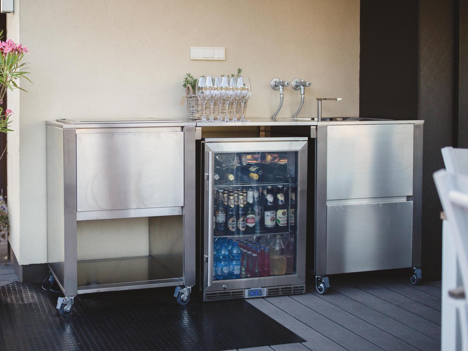 Outdoorküche Mit Kühlschrank Xxl : Outdoor kühlschrank edelstahl top edelstahl kühlschrank test