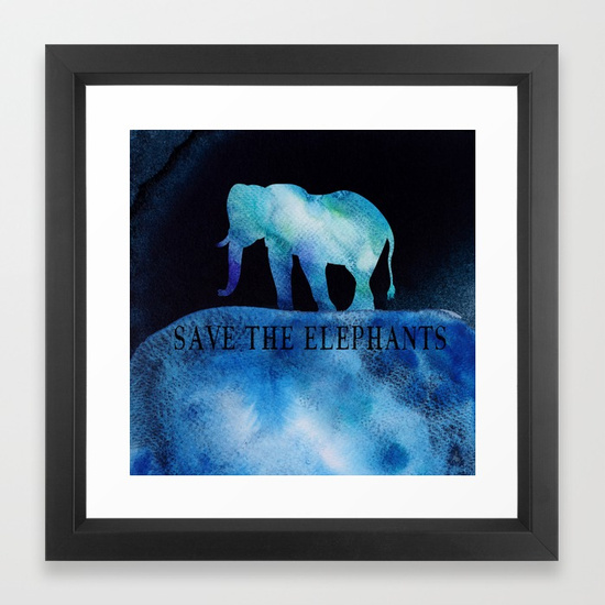 save-the-elephants-watercolor-painting-framed-prints