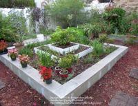 Cinder Block Raised Beds: Cinder block raised beds