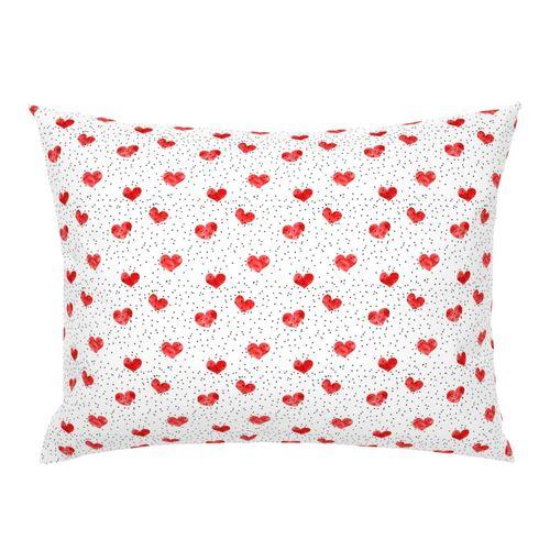 shop red pillow shams