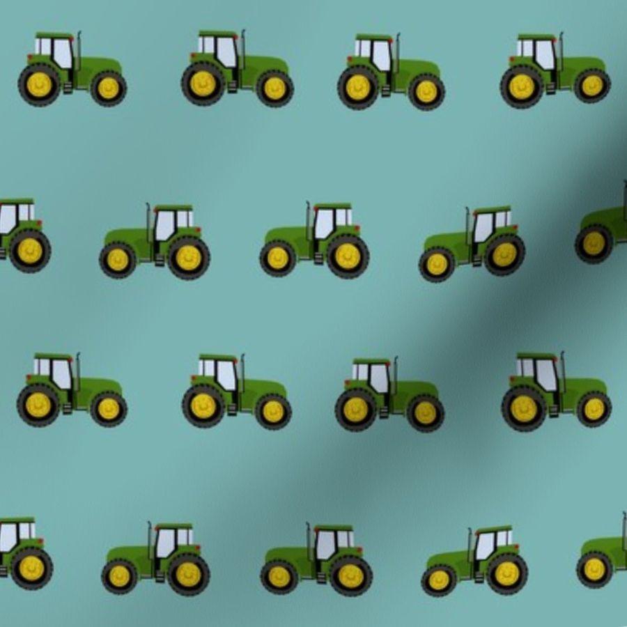 Tapeten Kinderzimmer Traktor