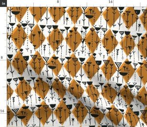 rec phone rockin spoonflower digitally fabrics colorful printed