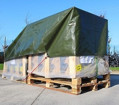 Tentas (4m x 6m) 90g.kv/m — uzdangalai kroviniams