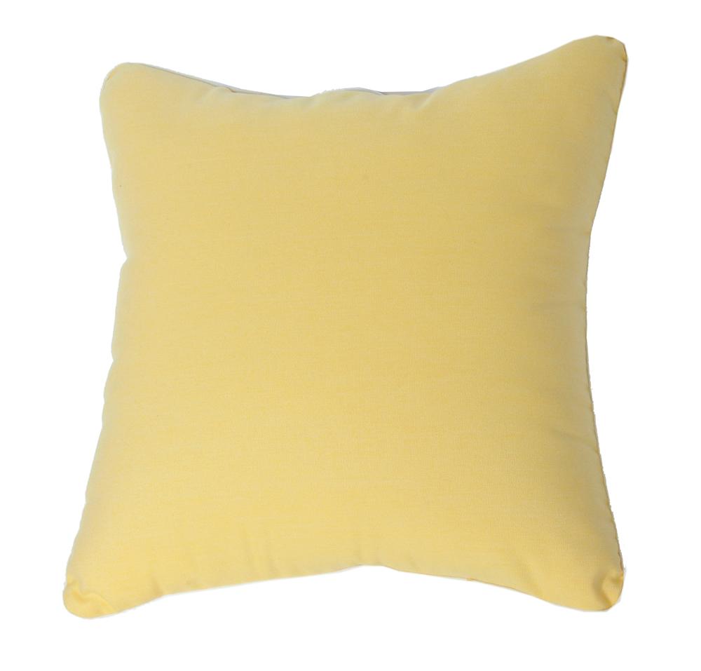 Throw Pillow IndoorOutdoor 22 Square Sunbrella Standard