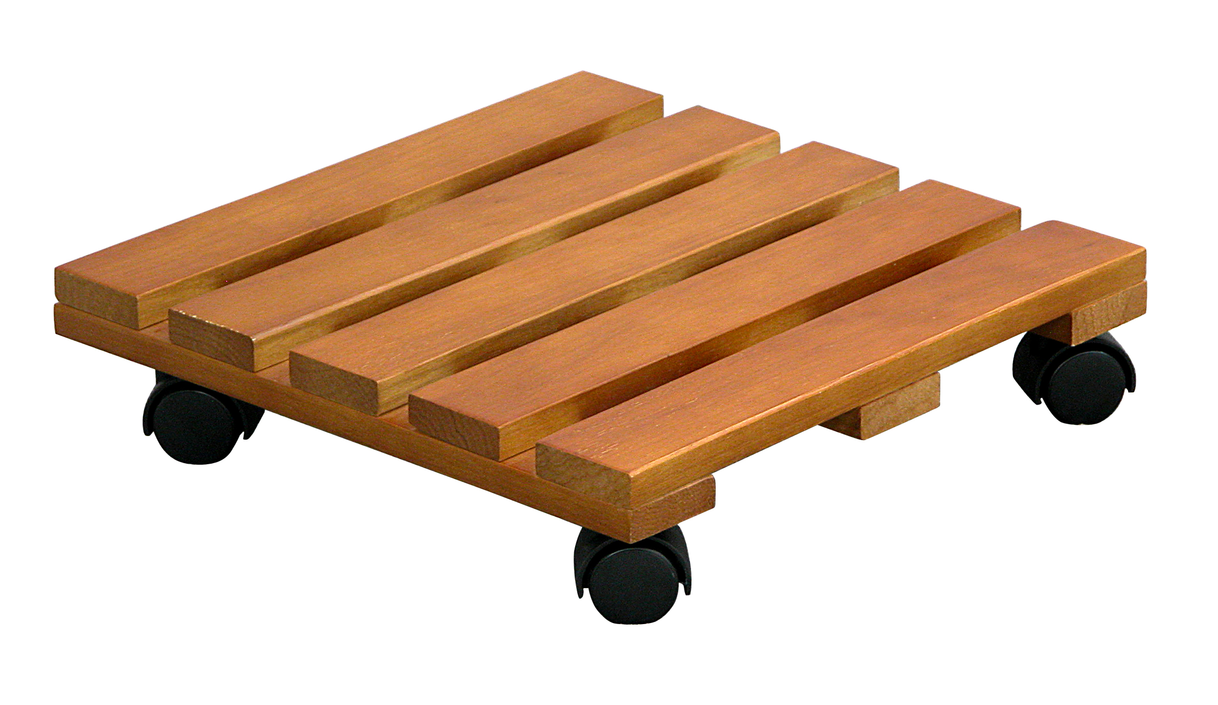 Plant Caddy Wooden 14 x 14