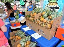 Farmers market in Honolulu