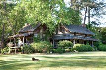 Southern Log Cabin