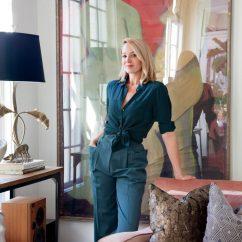 Black Kitchen Countertops Paula Deen Table Inside Louisa Pierce's Nashville Home – Garden & Gun